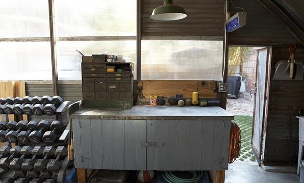 6 WWII Quonset Hut Interior